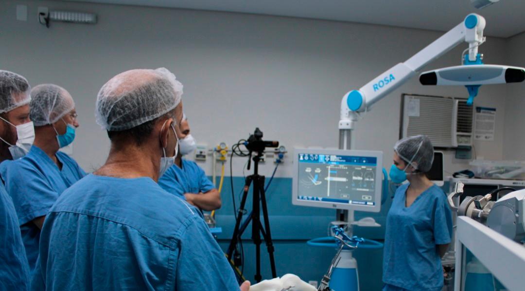 Hospital São Lucas é pioneiro na robótica ortopédica em Minas Gerais